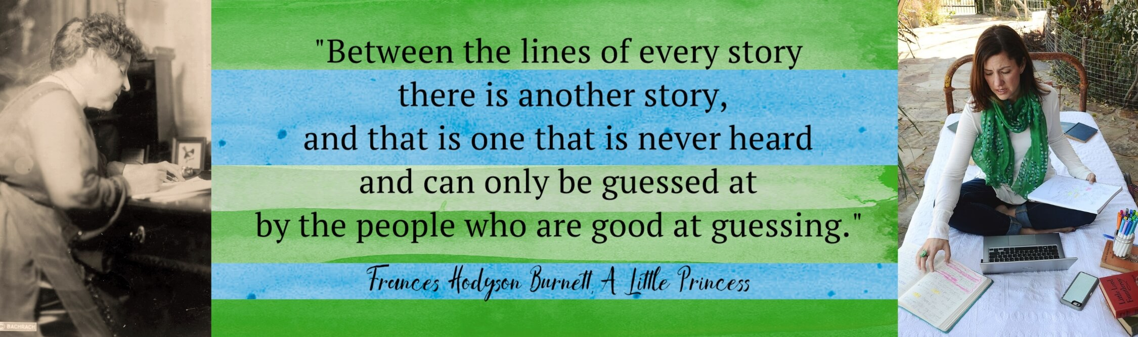 """""""Between the lines of every story there is another story, and that is one that is never heard and can only be guessed at by the people who are good at guessing."""""""