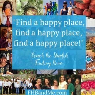 """Find a happy place, find a happy place, find a happy place."""